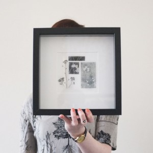 framed multi plate print