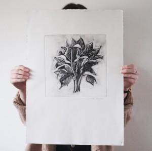 palm monoprint